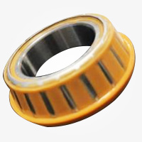 Bearing with Solid Oil